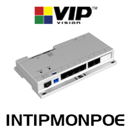 VIP Vision Power Over Ethernet Switch For IP Intercoms