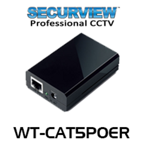 SecurView WT-CAT5POER Power Over Ethernet Receiver
