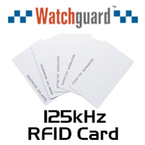 WatchGuard 125kHz RFID Proximity Cards (10 pack)