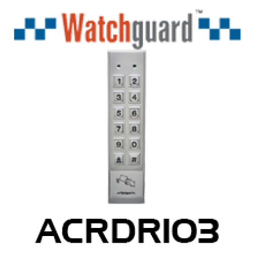 WatchGuard Standalone IP65 Access Reader & Keypad