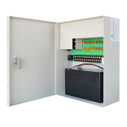 SecurView 12VDC 10A 18-Ch CCTV Surveillance Power Supply