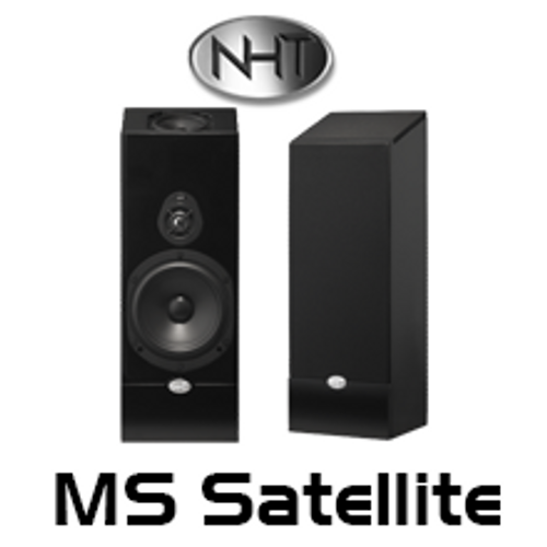 "NHT Media 5.25"" Atmos Enabled Satellite Speakers (Pair)"