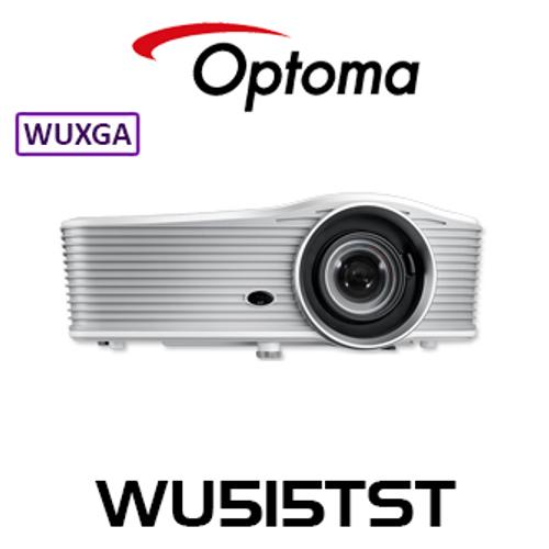 Optoma WU515TST WUXGA 5500 Lumens HDBaseT Short Throw DLP Projector