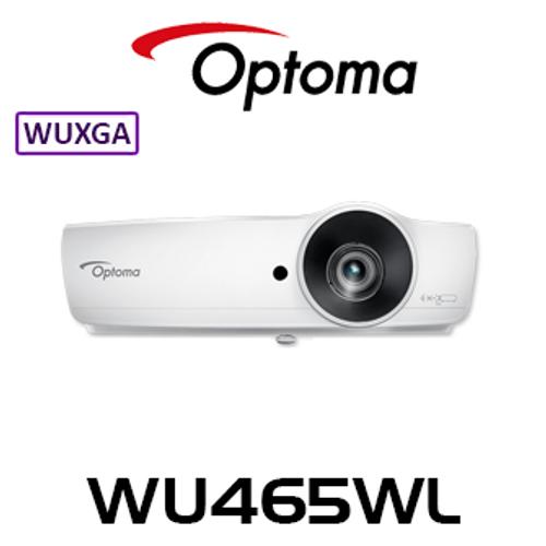 Optoma WU465WL WUXGA 4800 Lumens Business DLP Projector With WiFi Dongle