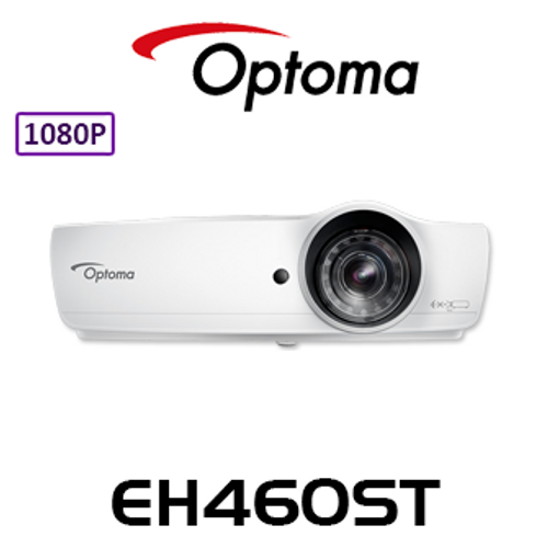 Optoma EH460ST Full HD 4200 Lumens Short Throw DLP Projector with WiFi Dongle