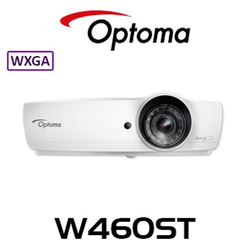 Optoma W460ST WXGA 4000 Lumens Short Throw DLP Projector With WiFi Dongle