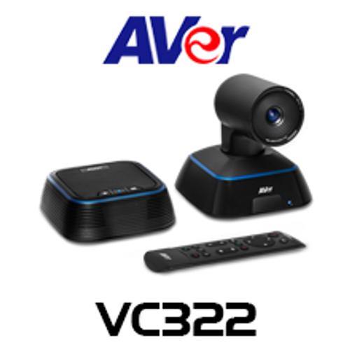 Aver VC322 4K Ultra HD PTZ USB Conference Camera