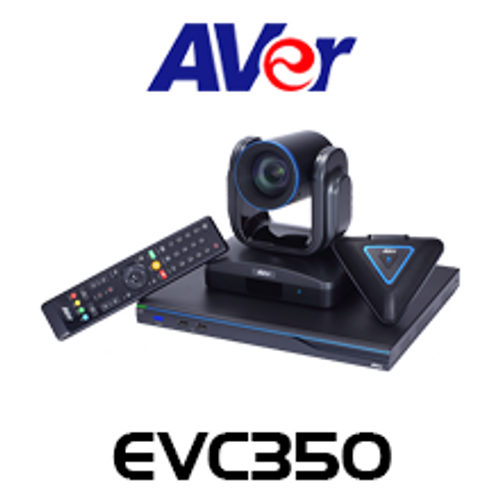 Aver EVC350 4-Site 18x PTZ Endpoint Pro Video Conferencing System