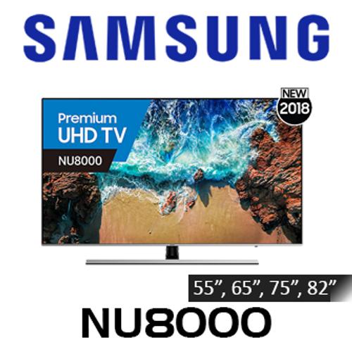Samsung Premium Series 8 NU8000 4K UHD HDR10+ LED Smart TV