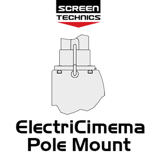 """ST ElectriCinema Pole Mount System To Suit 110""""-150"""" Screens"""