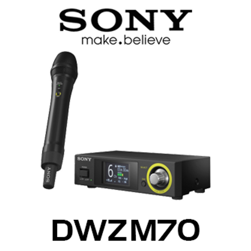 Black Sony BCDWZ1 DWZ Series Battery Charger for Microphone