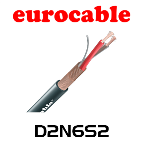 Eurocable 7.0mm Double Screen AES/EBU Digital Audio Cable - 100m