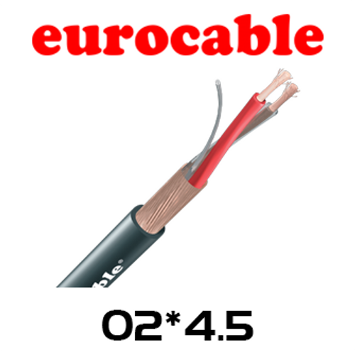 Eurocable 4.5mm Copper Screen Microphone Cable - 200m