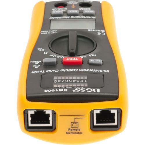 LAN Tester and Multimeter combo