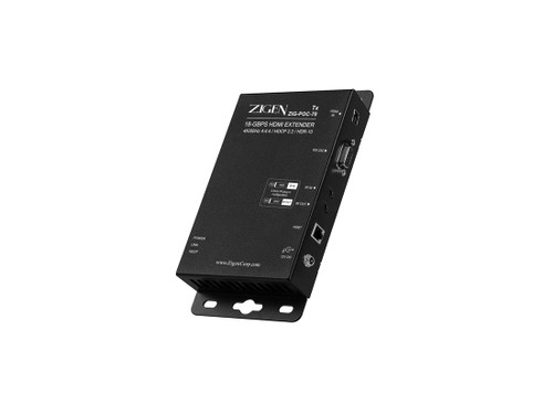 Zigen ZIG-POC-70 HDBaseT 18Gbps HDMI 2.0 Extender (70 Meters)