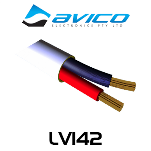 Avico LV142 14AWG 2 Core OFC Speaker Cable (100m)