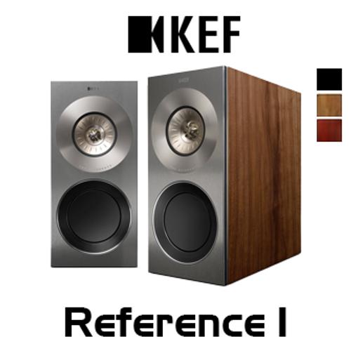 "KEF Reference 1 6.5"" 3-Way Uni-Q Bookshelf Speakers (Pair)"