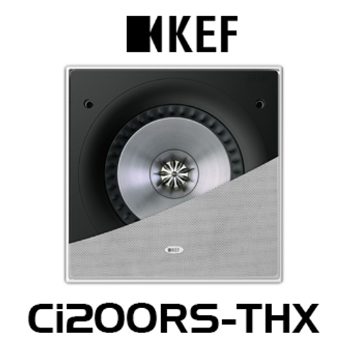 "KEF Ci200RS-THX 8"" THX Ultra2 In-Wall Subwoofer (Each)"