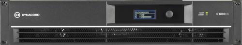 Dynacord C2800FDi 2-Channel 1400W DSP Power Amplifier