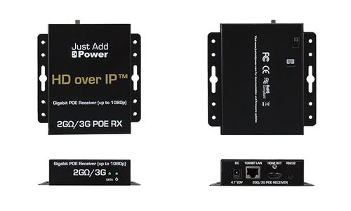 JAP 505PoE 1080p Gigabit PoE Receiver
