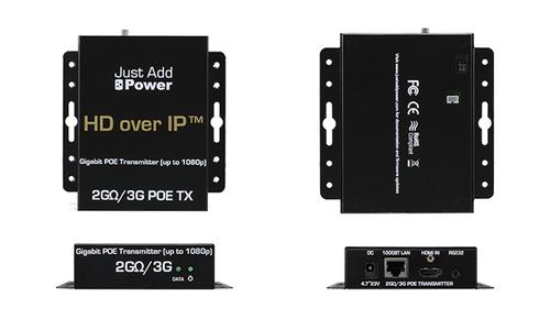 JAP 705PoE 1080p Gigabit PoE Transmitter