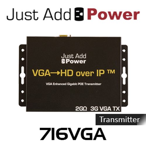JAP 716VGA VGA Enhanced PoE Transmitter