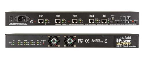 JAP 759A 3G+ 4+ Ultra HD Over IP Video Tilling Processor