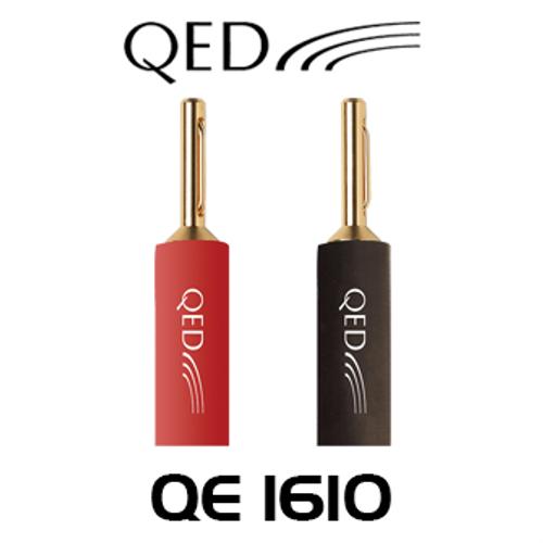 QED QE1610 4mm Airloc Mini Banana Plug