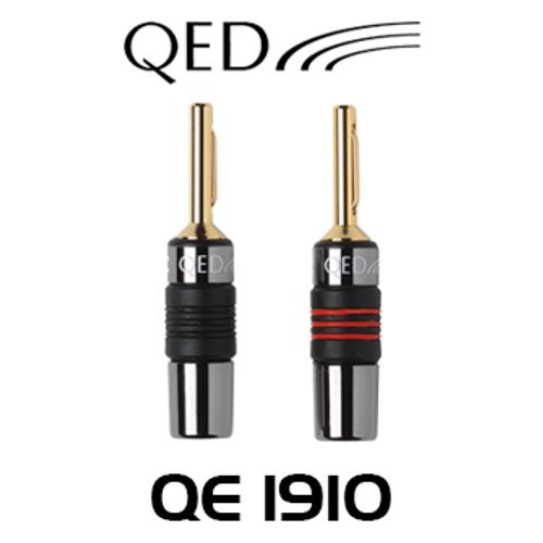 QED QE1910 4mm Airloc Metal Banana Plug