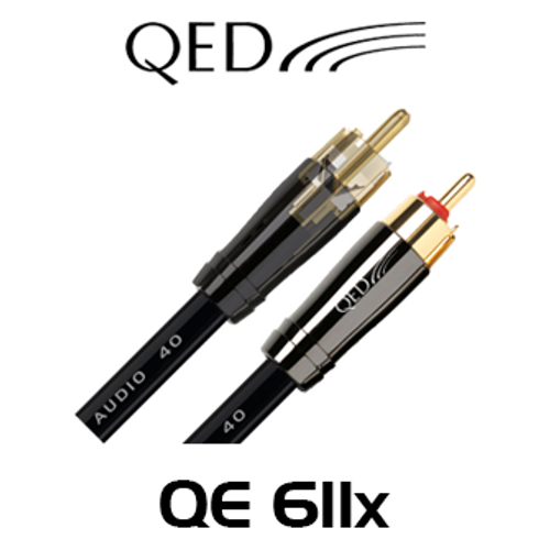 QED Performance QE611x Audio 40 Stereo RCA Interconnect Cable (2/3m)