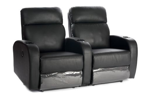 Manhattan New Yorker Leather / Suede Finish Cinema Seating