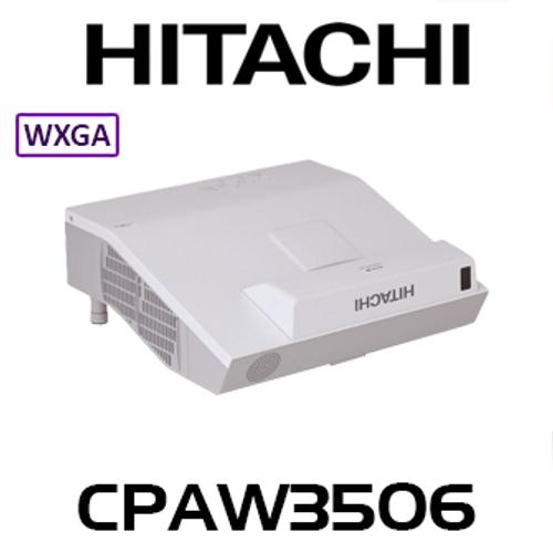 Hitachi CPAW3506 WXGA 3700 Lumen Ultra Short Throw 3LCD Projector