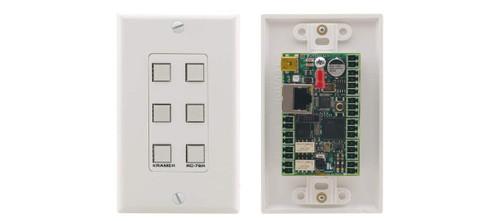 Kramer RC-76R 6-Button Room Controller Wallplate
