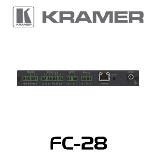 Kramer FC-28 10-Port Multi-Function PoE Control Gateway