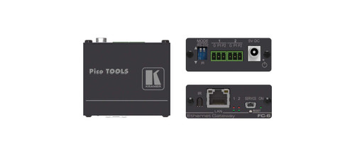 Kramer FC-6 2-Port Multi-Function Serial / IR Control Gateway