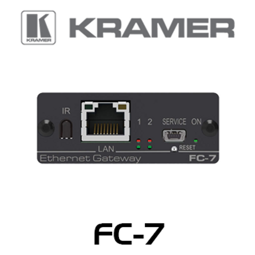 Kramer FC-7 2-Port Multi-Function GPIO / Relay Control Gateway