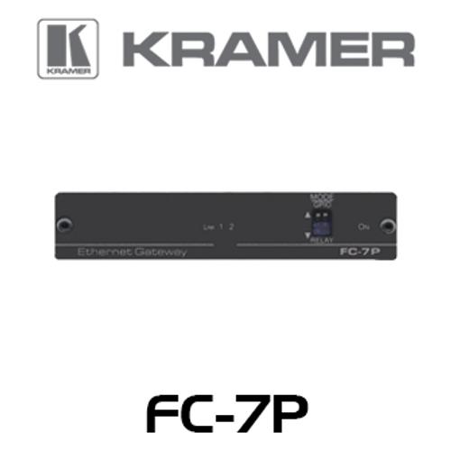 Kramer FC-7P 2-Port Multi-Function GPIO / Relay PoE Control Gateway