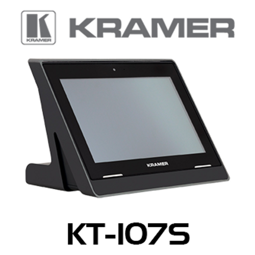 "Kramer KT-107S Secured 7"" Wall & Table Mount PoE Touch Panel"