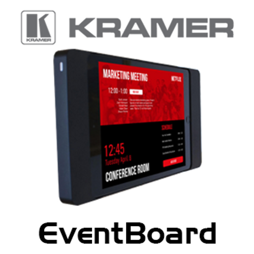 Kramer EventBoard Cloud-Based Meeting Room Management Solution