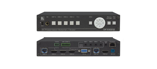 Kramer VP-440H2 5-Input 4K60 Presentation Switcher with HDBaseT & HDMI Outputs