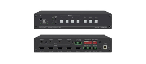 Kramer VS-411UHD 4x1 4K60 HDMI Auto Switcher With Audio
