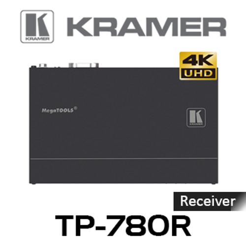 Kramer TP-780R 4K60Hz HDMI to HDBaseT PoE Receiver With RS-232 & IR (up to 40m)