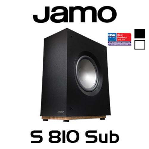 "Jamo S810 SUB 10"" 150W Ultra Slim Active Subwoofer"