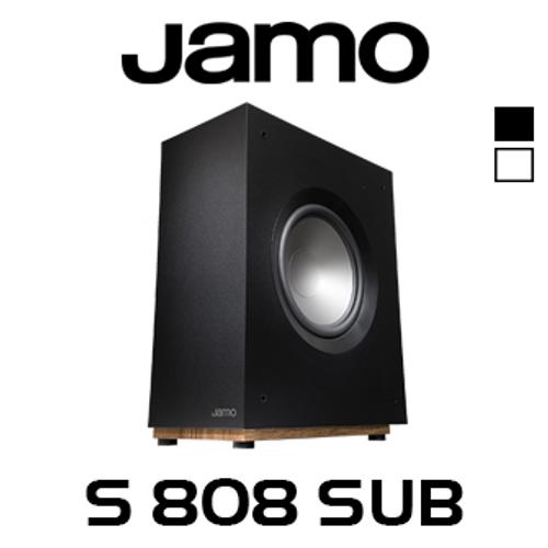 "Jamo S808 SUB 8"" 100W Ultra Slim Active Subwoofer"