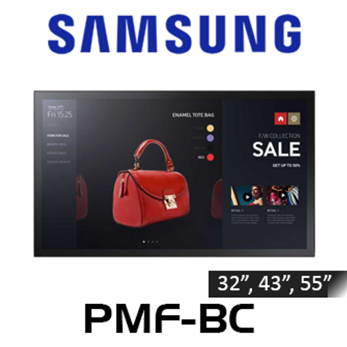 """Samsung PMF-BC Full HD All-In-One Tizen Powered Interactive Display (32"""", 43"""", 55"""")"""