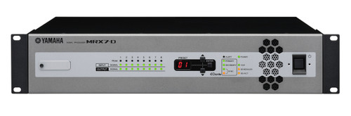 Yamaha MRX7-D Signal Processor With Dante
