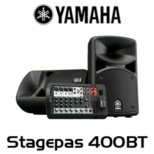 Yamaha Stagepas 400BT 8-Channel Portable PA System