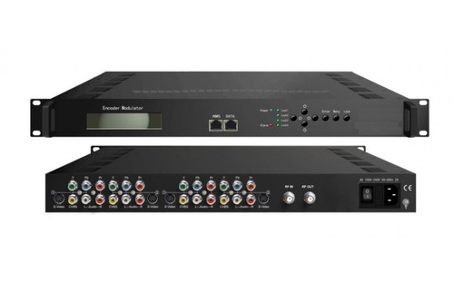 ClearView SD4260 Rack Mount Quad SD Modulator