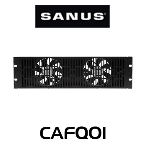 Sanus CAFQ01 3U Ultra Quiet Rack-Mounted Cooling Fan