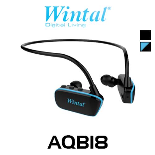 Wintal 8GB Waterproof Bluetooth MP3 Headphones